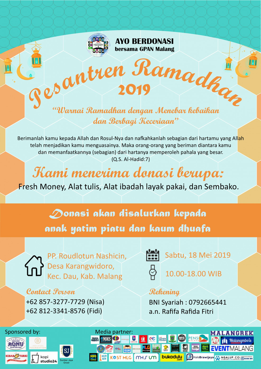 GPAN Malang Pesantren Ramadhan 2019