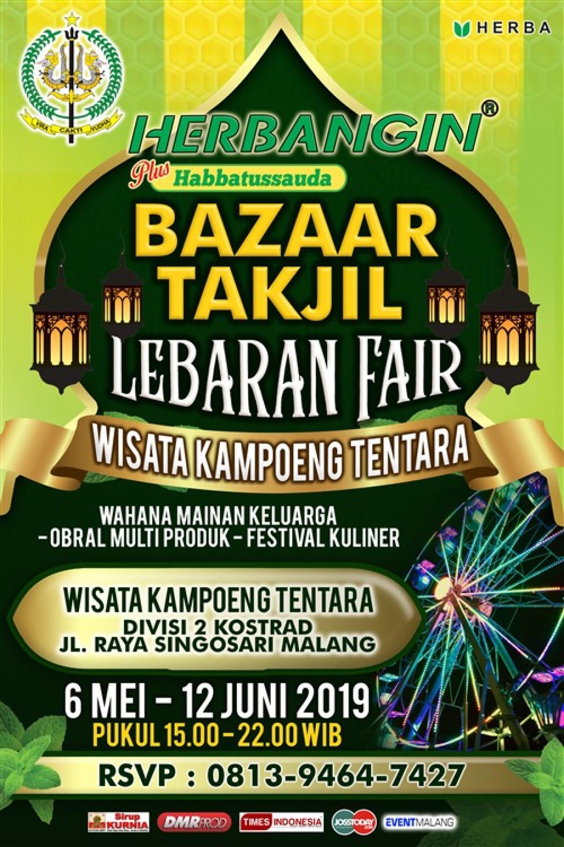 Bazaar Takjil Lebaran Fair
