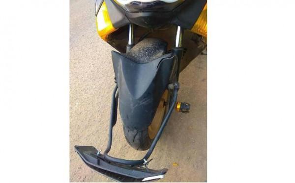 Resiko Memasang Plat Nomor Di Depan Spatbor Motor Matic