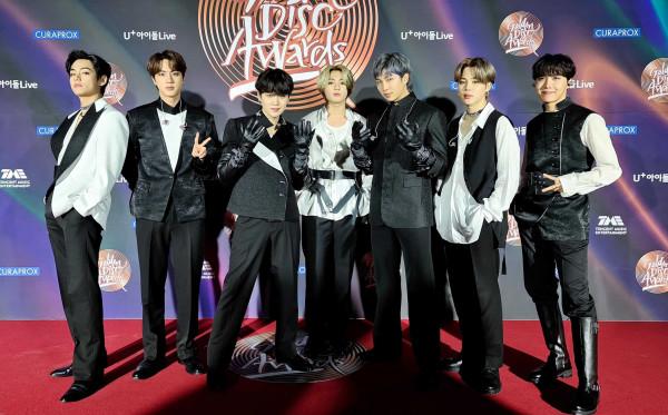 Kembali Menjadi OT7, Suga BTS Tampil di Golden Disc Award