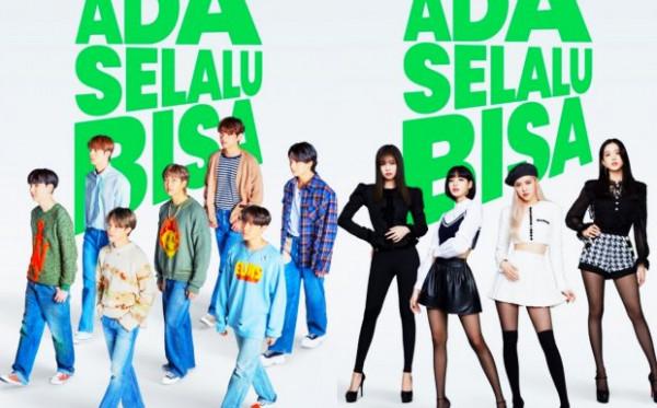 Menuju Panggung Global, Tokopedia Gaet BTS dan BLACKPINK Jadi Brand Ambassador