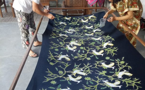 Kelindan Batik Kalimantan