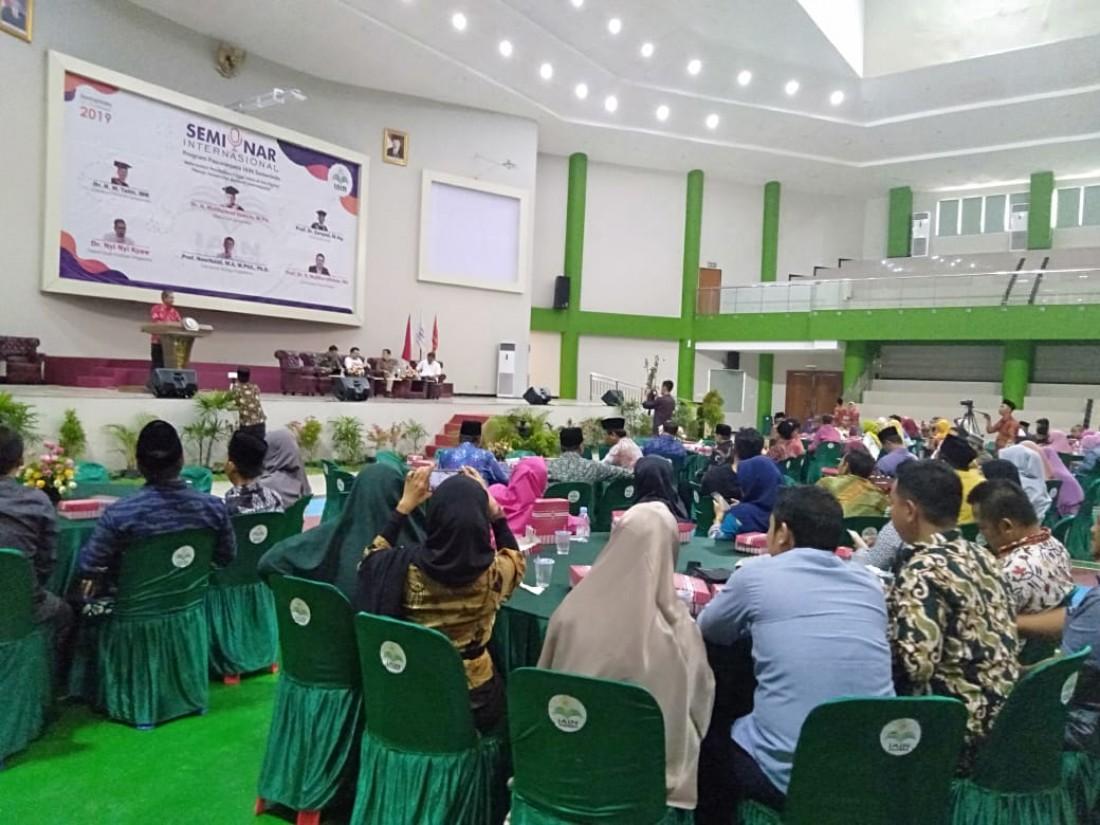 Dari Seminar Internasional; IAIN Samarinda Menuju Pendidikan Tinggi Islam Berkelas Dunia
