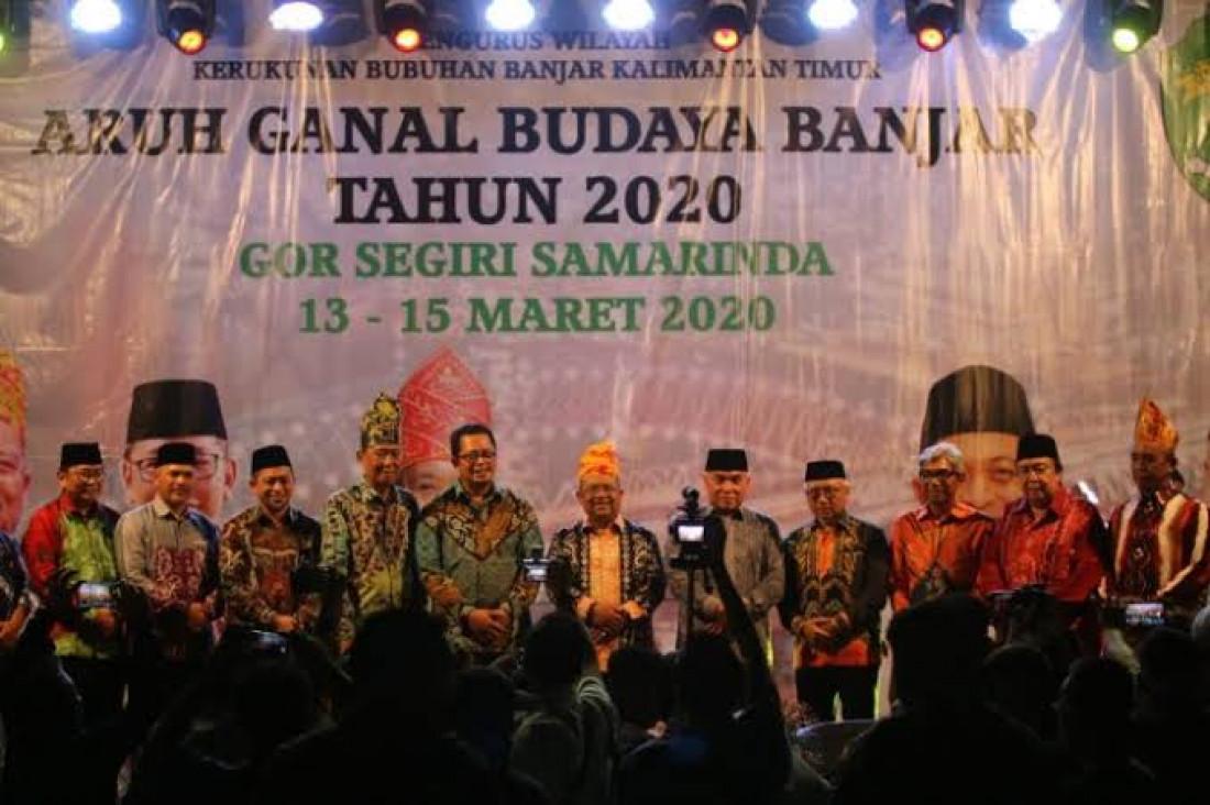 Mamanda : Persinggungan Komedi Dalam Aruh Ganal Budaya Banjar 2020.