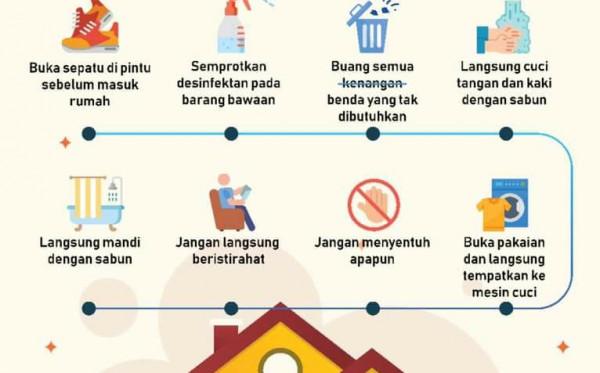 Pahami Protokol Memasuki Rumah Setelah Berpergian