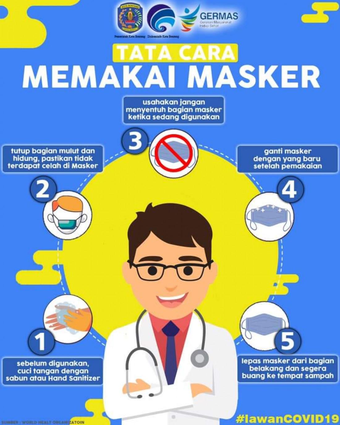 Yuk Simak Tata Cara Memakai Masker