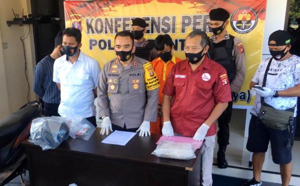 Sempat Buron, Pembunuh Wanita di Kamar Hotel Ditangkap Polres Bontang