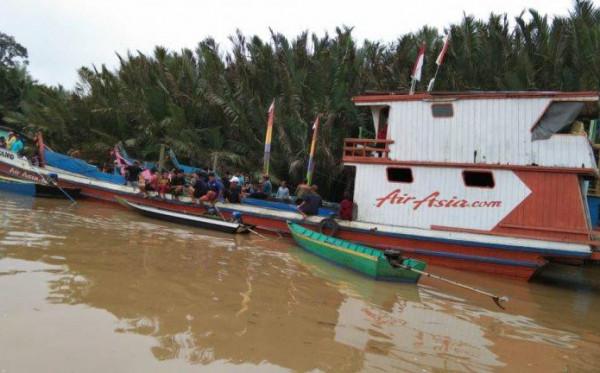 Polisi Ungkap Penyebab Kapal Karam di Habitat Buaya Kutai Timur