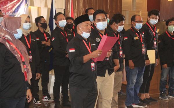 33 Pengurus AJKT Dilantik, Sukriadi dkk Siap Tangkal Hoaks di Tengah Pandemi dan Pilkada