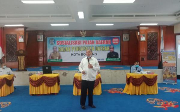 Gelar Sosialisasi Pajak, Bapenda Optimis Tingkatkan PAD