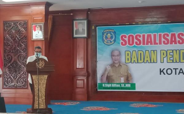 Sambut Wejangan Pjs Wali Kota Bontang, Bapenda Siap Berinovasi Tingkatkan PAD