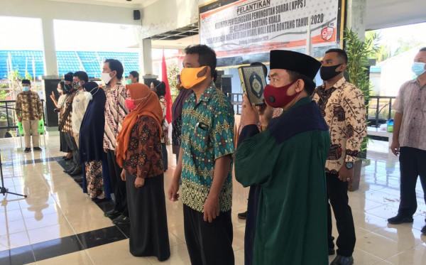 89 Anggota KPPS Kelurahan Bontang Kuala Dilantik