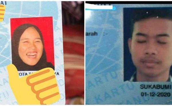 Delapan Pas Foto Nyeleneh KTP Netizen yang Bikin Ngakak