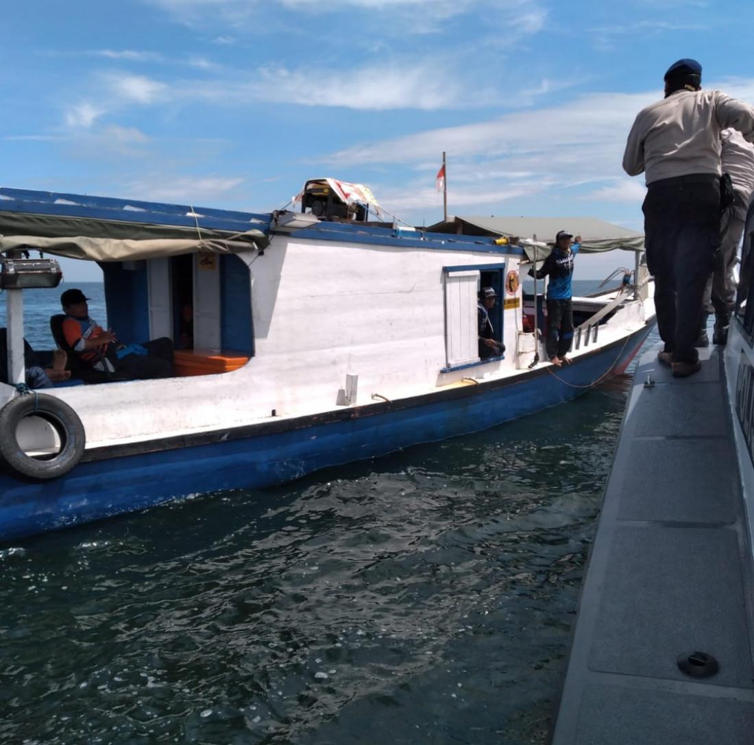 Buru Pelaku Tragedi Tabrakan Kapal, Polres Bontang Dalami Keterangan Saksi