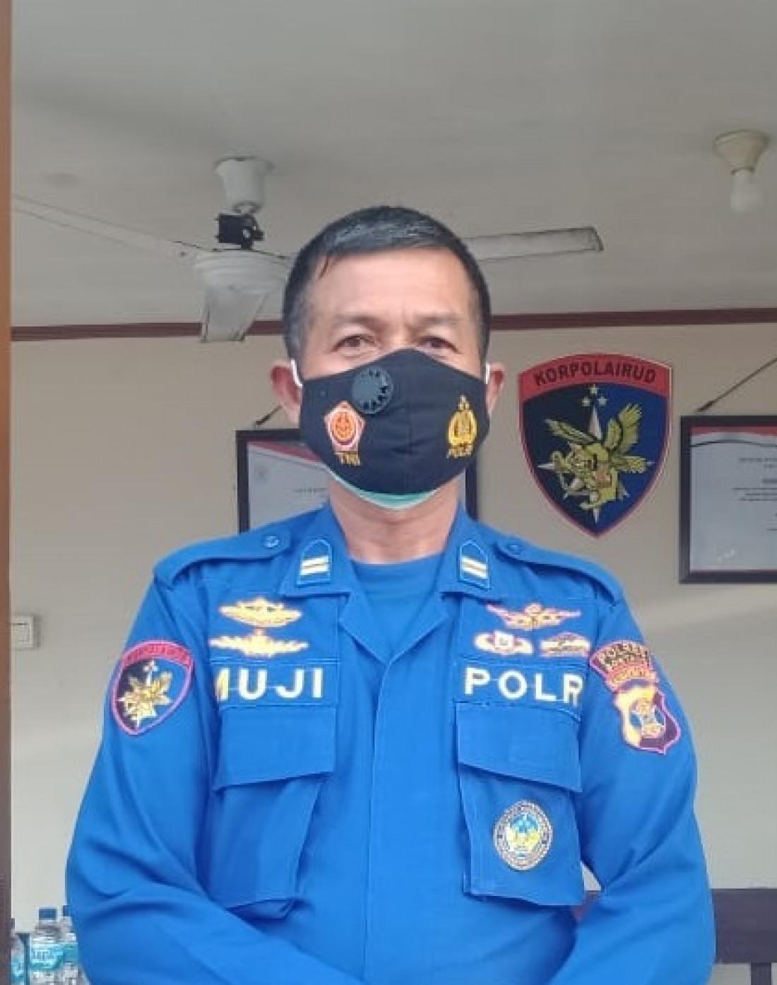 KBO Polairut Polres Bontang Iptu Edi Mujianto. (Foto: M.Safril)