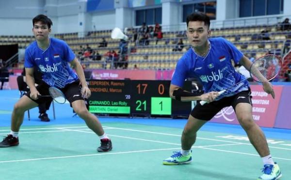 Leo/Daniel Amankan Tiket Semifinal Thailand Open 2021