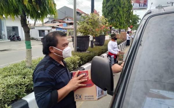 Ikut Galang Dana Korban Gempa Sulbar, Agus Haris Ucapkan Terima Kasih Atas Bantuan Dari Masyarakat Bontang
