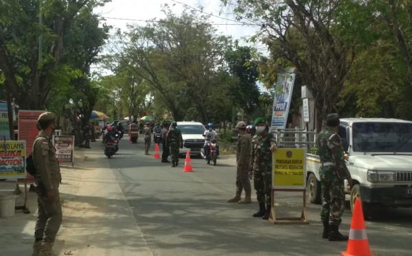 Hari Pertama PPKM di Bontang, Patroli Gabungan Diperkuat TNI-Polri