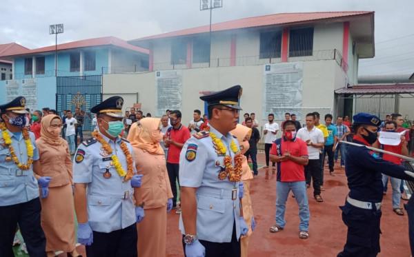 Tiga Pejabat Lapas Bontang Dimutasi ke Kampung Halamannya