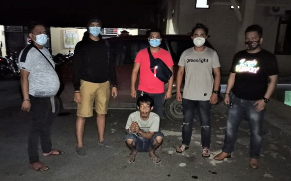 Tadah Barang Curian, Warga Lok Tuan Terancam 4 Tahun Penjara