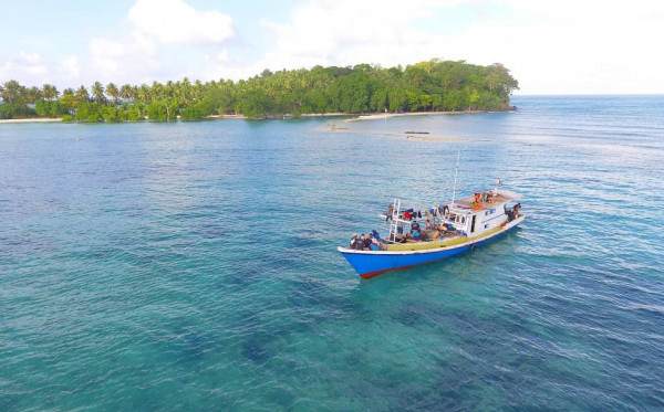 Bukan Muhammad Toha,  Pemancing yang  Terdampar di Pulau Birah-Birahan Berasal Dari Palu