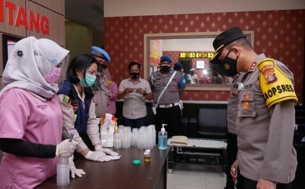 Ratusan Polisi di Bontang Jalani Tes Narkoba Mendadak, Apa Hasilnya?