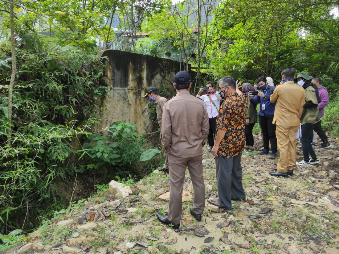 Komisi III Janji Anggarkan  Perbaikan Hotel Grand  Mutiara Bontang yang Terancam Runtuh