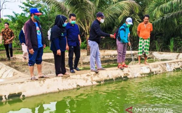 DPMPD Kaltim Apresiasi Pembenihan Ikan di Kutim