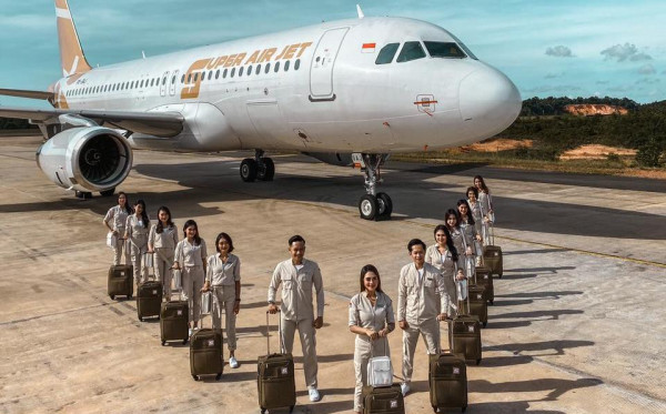 Industri  Penerbangan RI Kedatangan Pemain Baru, Super Air Jet