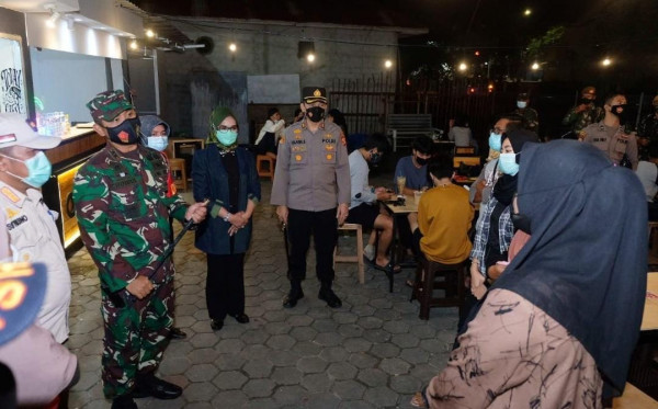 Patroli Penegakan Prokes, Masih Banyak Masyarakat Bontang Acuh Protokol Kesehatan