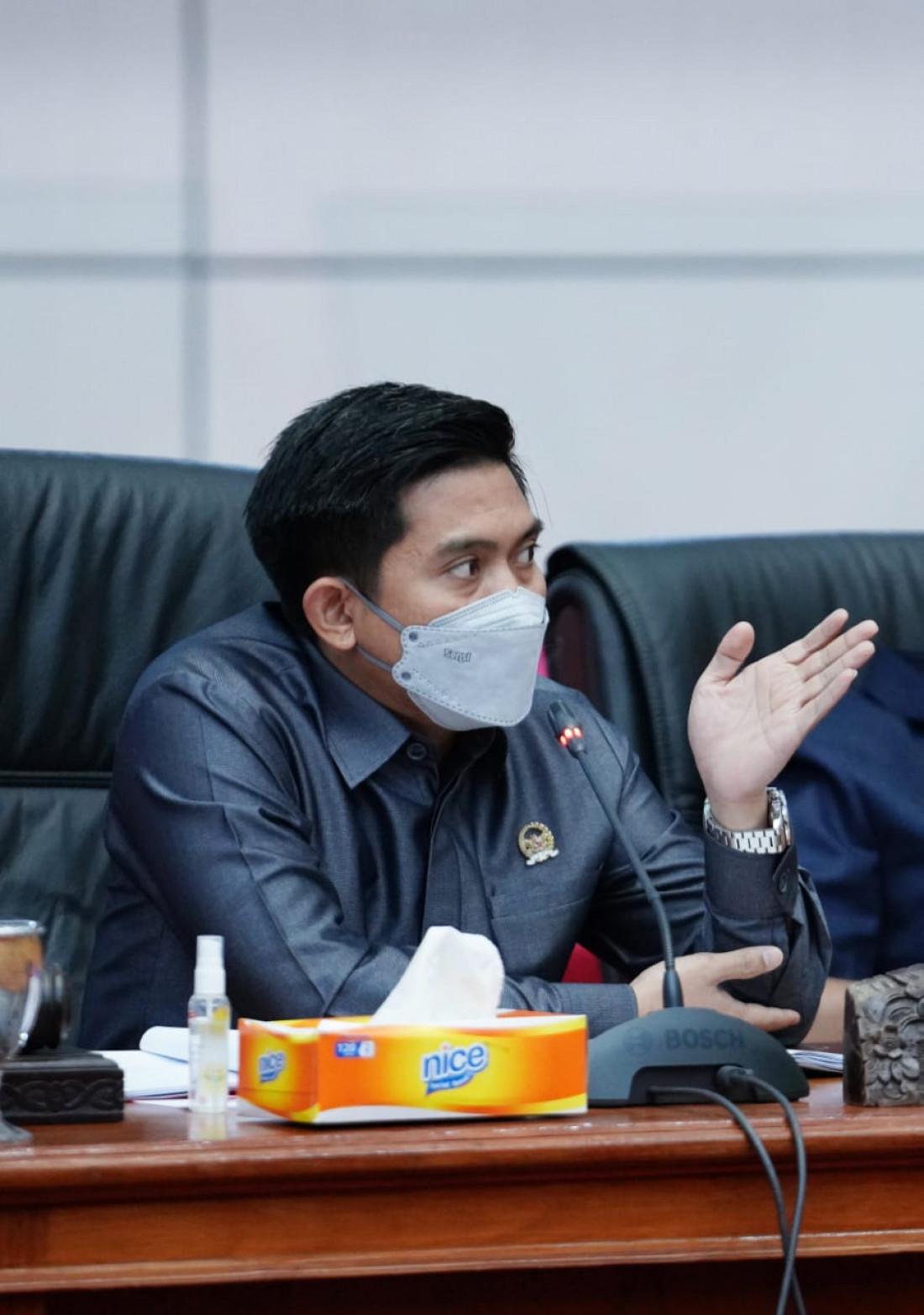 Bukan Ditolak, DPRD Minta Masterplan Dianggarkan Tahun Depan Agar Maksimal