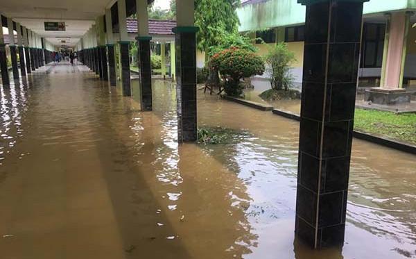 RSUD Sjahranie Samarinda Terendam Banjir, Ruang Kemo Tergenang