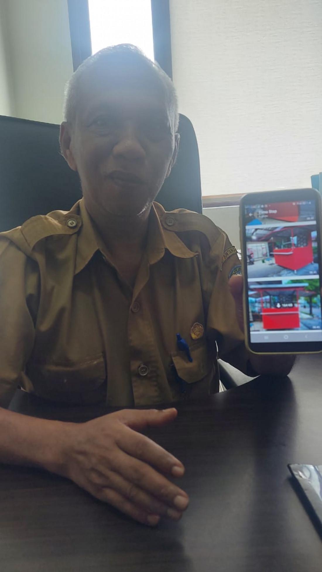 Agar Tak Terkesan Kumuh,  Diskop-UKMP Bontang Rencana Rombak Lapak Pedagang Lapangan Bessai Berinta