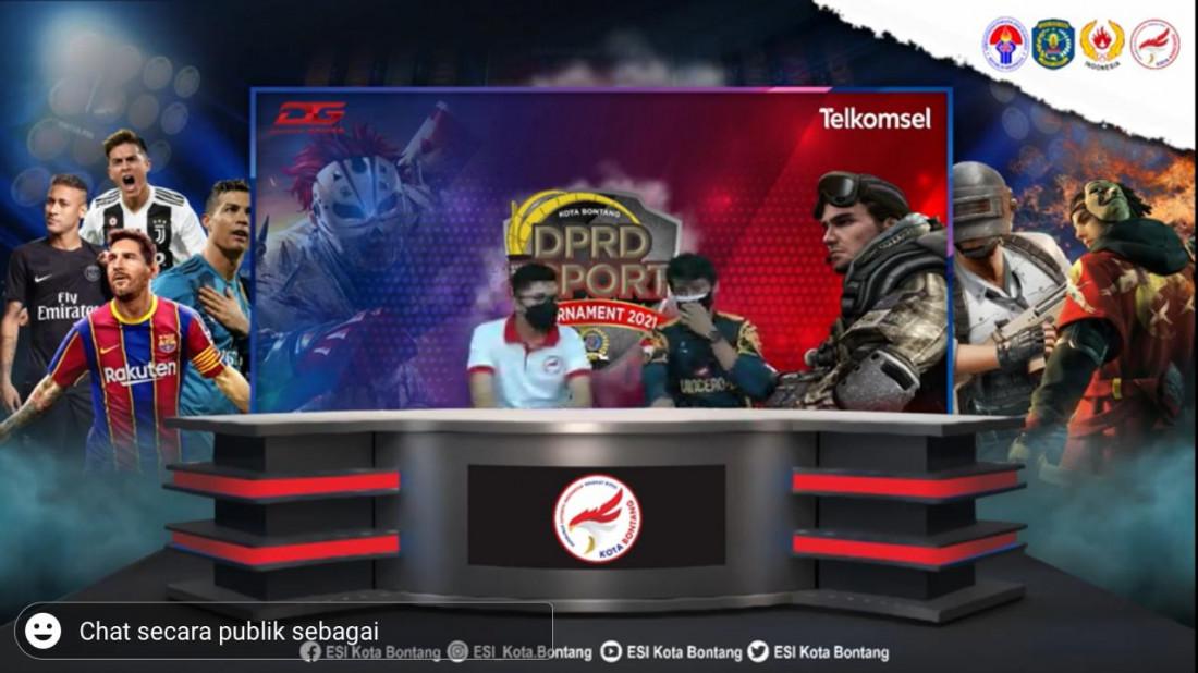 Turnamen DPRD Esport Makin Seru, Ada Seribu Peserta Unjuk Gigi