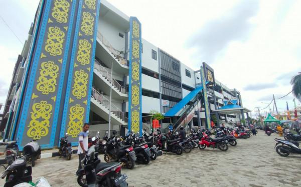 Penataan Lapak Pasar Taman Rawa Indah Bakal Dievaluasi Usai PPKM Darurat
