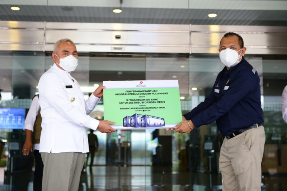 SKK Migas Berikan 60 Ton Oksigen Medis untuk Kaltim
