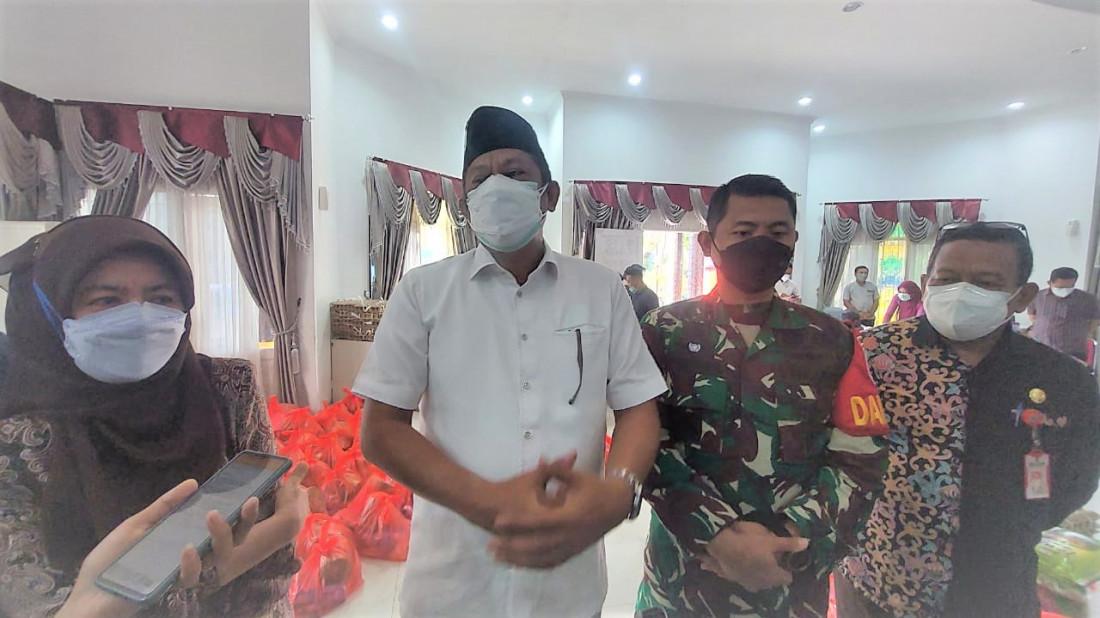 Patungan ASN Bontang, Salurkan 150 Paket Sembako buat Warga Isoman