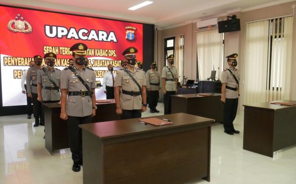 Regenerasi, Empat Pejabat Polres Bontang Berganti