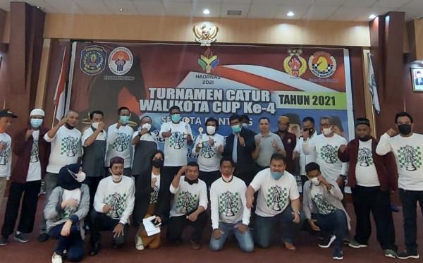 Kejuaraan Catur Wali Kota Cup 2021 Digelar, 70 Peserta Perebutkan Hadiah Puluhan Juta