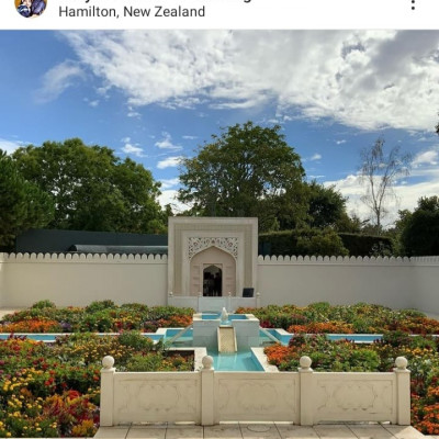 Diary of Auckland - Hamilton Gardens