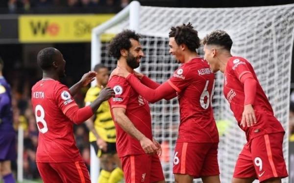 Mo Salah Jadi Top Skor Liverpool Sepanjang Masa di Liga Champions