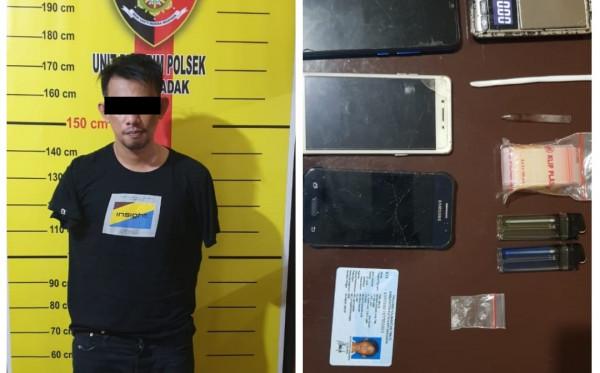 Diduga Terlibat Pengedaran Narkoba, Warga Muara Badak Diciduk Polisi
