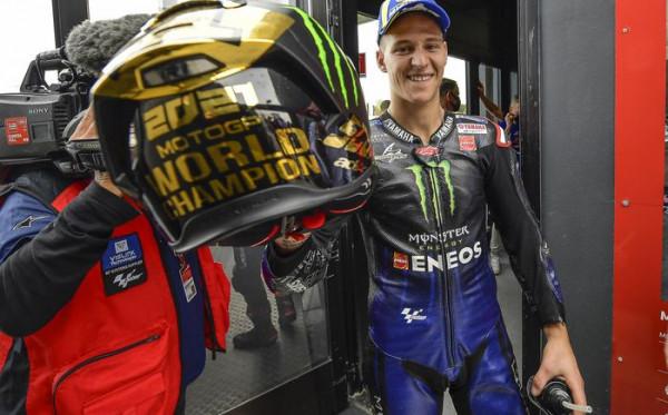 Menangi MotoGP 2021, Ini Kunci Sukses Fabio Quartararo